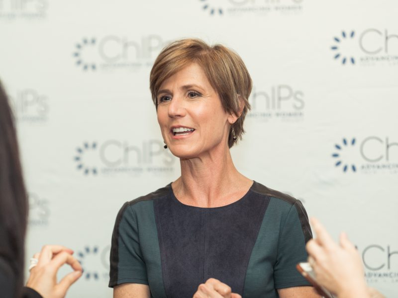 Former Deputy Attorney General Sally Yates Speaks at the Summit
