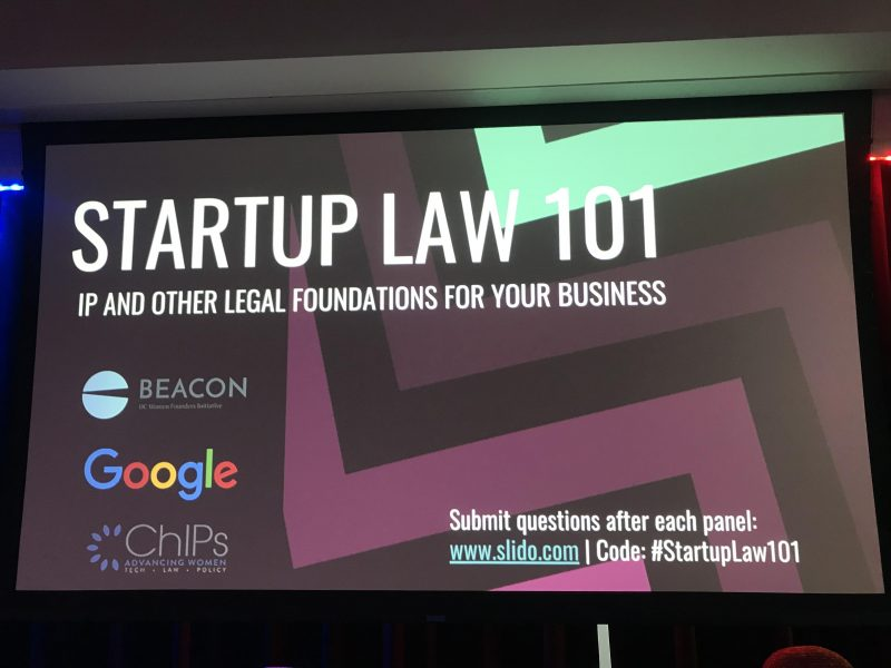 ChIPs DC Chapter partners with Google, Georgetown Law and BEACON DC