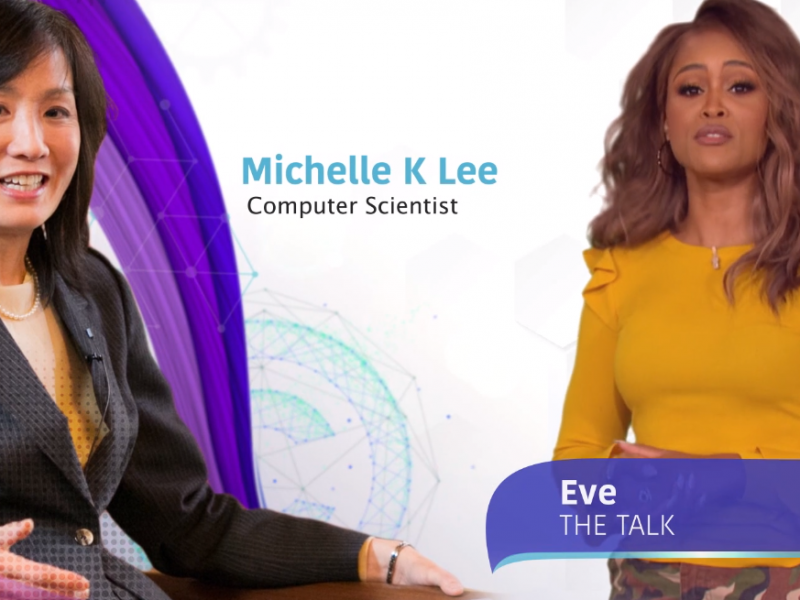 "Michelle K. Lee Honored in ""CBS Cares"" #SEEHER PSA Campaign"