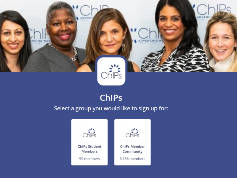 Welcome to Our New Online ChIPs Member Community