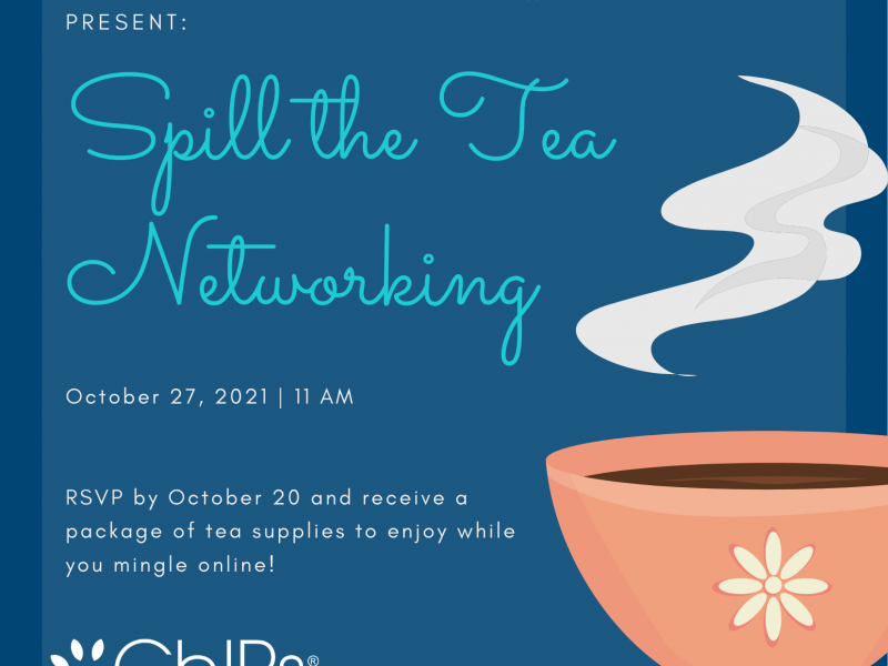 ChIPs Indianapolis Chapter presents Spill the Tea Networking